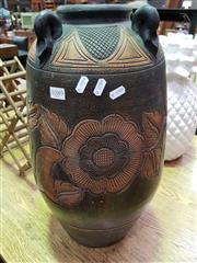 Sale 8462 - Lot 1089 - Large Ceramic Vase