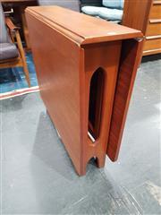 Sale 8723 - Lot 1055 - Mcintosh Teak Drop Leaf Table