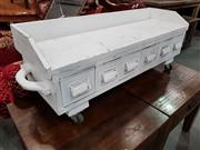 Sale 8717 - Lot 1080 - Painted Drawer Unit