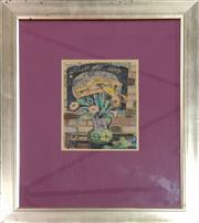 Sale 8981 - Lot 2063 - Artist Unknown Still Life pastel on paper, 64 x 54cm (frame), signed lower right under mount -