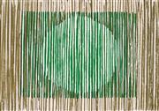 Sale 8980A - Lot 5049 - Una Foster (1912 - 1996) - Green Light, 1981 44 x 63 cm (frame: 74 x 91 x 3 cm)