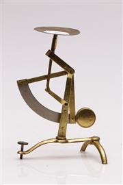 Sale 9052 - Lot 382 - Fine Brass Postal Scales (H: 13cm)
