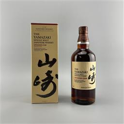 Sale 9142W - Lot 1002 - The Yamazaki Distillery Spanish Oak - 2020 Edition Single Malt Japanese Whisky - 2020 limited edition, 48% ABV, 700ml in box