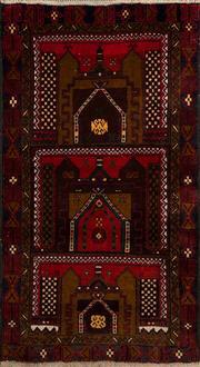 Sale 8360C - Lot 58 - Persian baluchi 140cm x 86cm