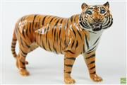 Sale 8586 - Lot 66 - Beswick Figure of A Tiger ( L 31cm)