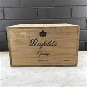 Sale 8987 - Lot 641 - 6x 1990 Penfolds Bin 95 Grange Shiraz, South Australia - in original wooden box