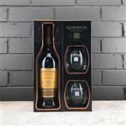 Sale 9079W - Lot 868 - Glenmorangie The Original 10YO Highland Single Malt Scotch Whisky - gift pack containing 1x 700ml bottle and 2x branded tumblers