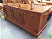 Sale 8495F - Lot 1046 - Pine Blanket Box