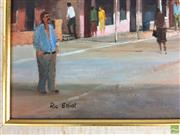 Sale 8589R - Lot 33 - Rick Elliott - Oil on Board (34 x 24cm)