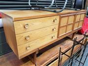 Sale 8661 - Lot 1013 - 1960s Teak Sideboard