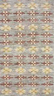 Sale 8626A - Lot 199 - A Cadrys Indian Modern Design Handspun Wool Carpet, Size; 243x156cm, RRP; $1200