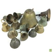 Sale 8648A - Lot 83 - Collection of Brass Bells