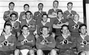 Sale 8754A - Lot 71 - Manly Rugby Union Team, 1959 - 18 x 28cm