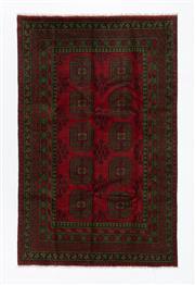 Sale 8760C - Lot 99 - An Afghan Turkaman Design 100% Wool Pile, 240 x 170cm