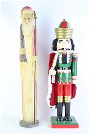 Sale 8827T - Lot 699 - Yule-Time Nutcracker Figure with a Wise Man