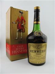 Sale 8385 - Lot 617 - 1x Hennessy VSOP Reserve Cognac - old bottling, in box
