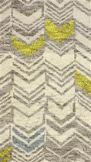 Sale 8626A - Lot 200 - A Cadrys Indian Modern Design Handspun Wool Carpet, Size; 247x153cm, RRP; $1200
