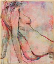 Sale 8652A - Lot 5082 - Cyndi Rogoff (1976 - ) - Neon Pop Nude 30 x 25cm