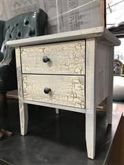 Sale 8822 - Lot 1219 - Pair of Shabby Chic Bedside Chests