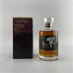 Sale 9142W - Lot 1007 - Hibiki 21YO Blended Japanese Whisky - 43% ABV, 700ml in box