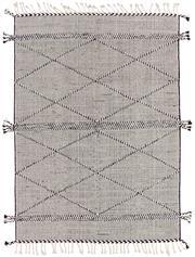 Sale 8725C - Lot 28 - An Indian Mradu Hand-knotted Wool Carpet, Black, 160x230cm, RRP $800