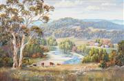 Sale 8773 - Lot 522 - John Bradley (1945 - ) - Summers End, 1993 57.5 x 88cm