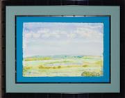 Sale 8945 - Lot 2043 - Svein Koningen (1946 - ) - Landscape 38 x 57 cm (frame: 69 x 89 x 3 cm)