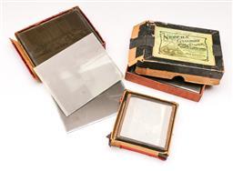 Sale 9114 - Lot 35 - Collection of glass negative plates incl. bush & cave Scenes