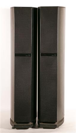 Sale 9136 - Lot 55 - A pair of Jamo floor speakers