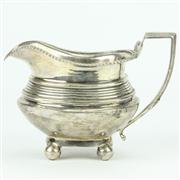 Sale 8314 - Lot 49 - English Hallmarked Sterling Silver George III Milk Jug
