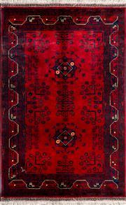 Sale 8380C - Lot 8 - Afghan Belgic 160cm x 100cm
