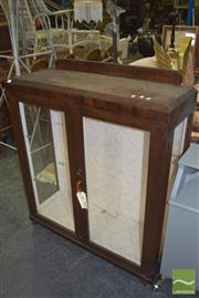 Sale 8390 - Lot 1121 - Glass Front Display Case