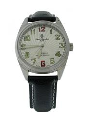 Sale 8406A - Lot 11 - Early mens c 1970 Henri Sandoz Swiss made wristwatch, 17 jewels, 36 mm, in stainless steel case, manual wind, fully restored