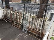 Sale 8601 - Lot 1200 - Collection of Iron Work