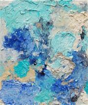 Sale 8652A - Lot 5083 - Cyndi Rogoff (1976 - ) - Blue Frontier 32 x 28cm