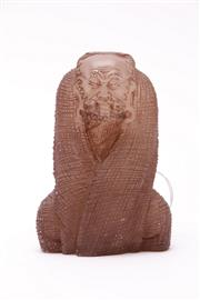 Sale 9023O - Lot 580 - Composite Chinese figure of Arhat (H12.5cm)