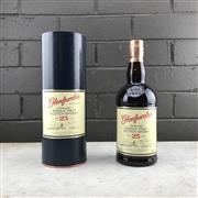 Sale 9062W - Lot 674 - Glernfarclas 25YO Highland Single Malt Scotch Whisky - 43% ABV, 1000ml in canister