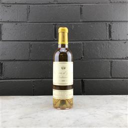 Sale 9109W - Lot 821 - 2001 Chateau dYquem, 1er Cru Superieur, Sauternes - 375ml half-bottle