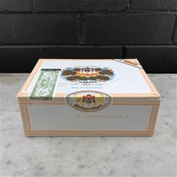 Sale 9089W - Lot 68 - H. Upmann Corona Major Cuban Cigars - box of 25, stamped July 2016