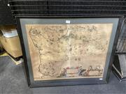 Sale 9087 - Lot 2022 - C17th hand-coloured Map of Kircubriensis, Scotland Praefectura Kircubriensis, The Steuartrie of Kircubrigh; Lidalia vel Lidisdalia...
