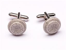 Sale 9110 - Lot 100 - A pair of Australian sterling silver cufflinks,