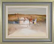 Sale 8339A - Lot 576 - Colin Parker (1941 - ) - Oldtimers at Turondale, N.S.W 44.5 x 60cm