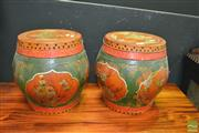 Sale 8431 - Lot 1013 - Pair of Oriental Tea Chests
