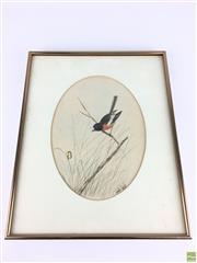 Sale 8589R - Lot 34 - Neville Cayley - Watercolour (27 x 19.5cm)