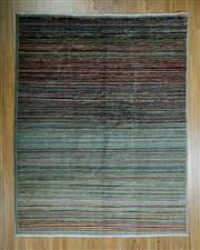 Sale 8625C - Lot 87 - Afghan Chobi Stripi 192cm x 152cm