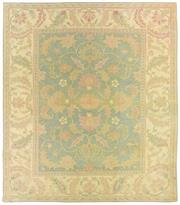 Sale 8725C - Lot 30 - A Vintage Turkish Oushak Carpet, Hand-knotted Wool, 370x325cm, RRP $5,000