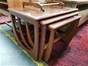 Sale 8822 - Lot 1168 - Nest of Three Teak Sidetables