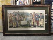 Sale 8819 - Lot 2156 - Humerous GOlfing Print