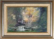 Sale 9053 - Lot 2044 - Neil David Stein - Upper Hunter Valley 23 x 37.5 cm (frame: 37 x 51 x 3 cm)