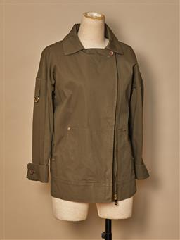 Sale 9093F - Lot 94 - An Oroton casual khaki light weight jacket, size 6-8
